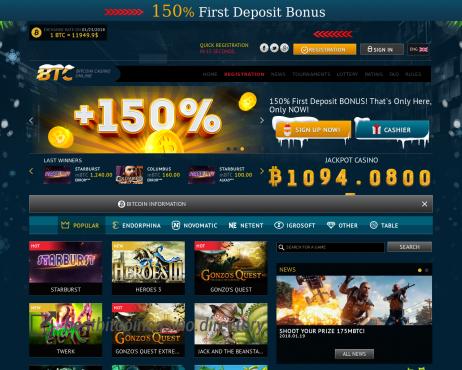 Online casino game sites